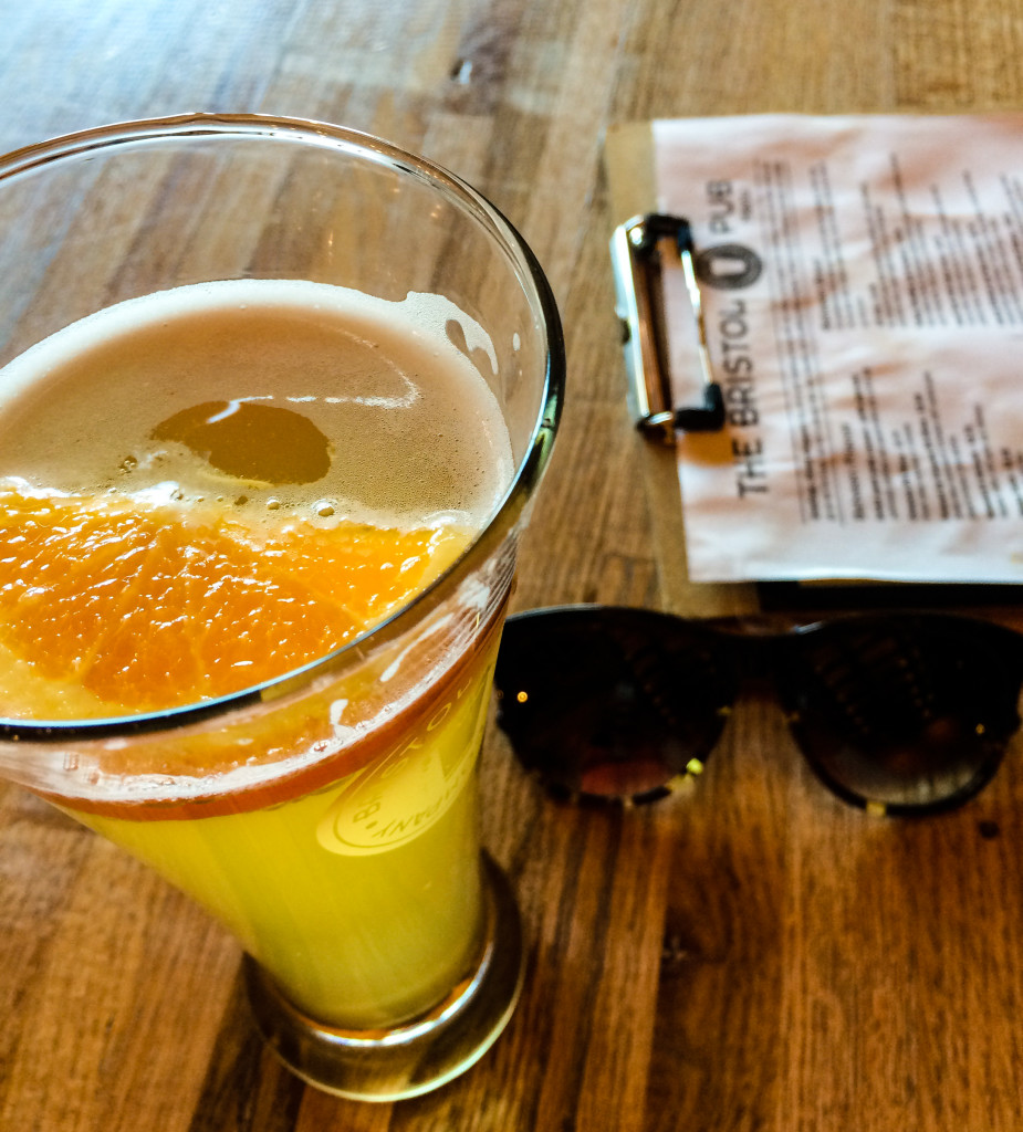 I had my shades in Colorado Springs. (Erin Klema/The Epicurean Traveler)