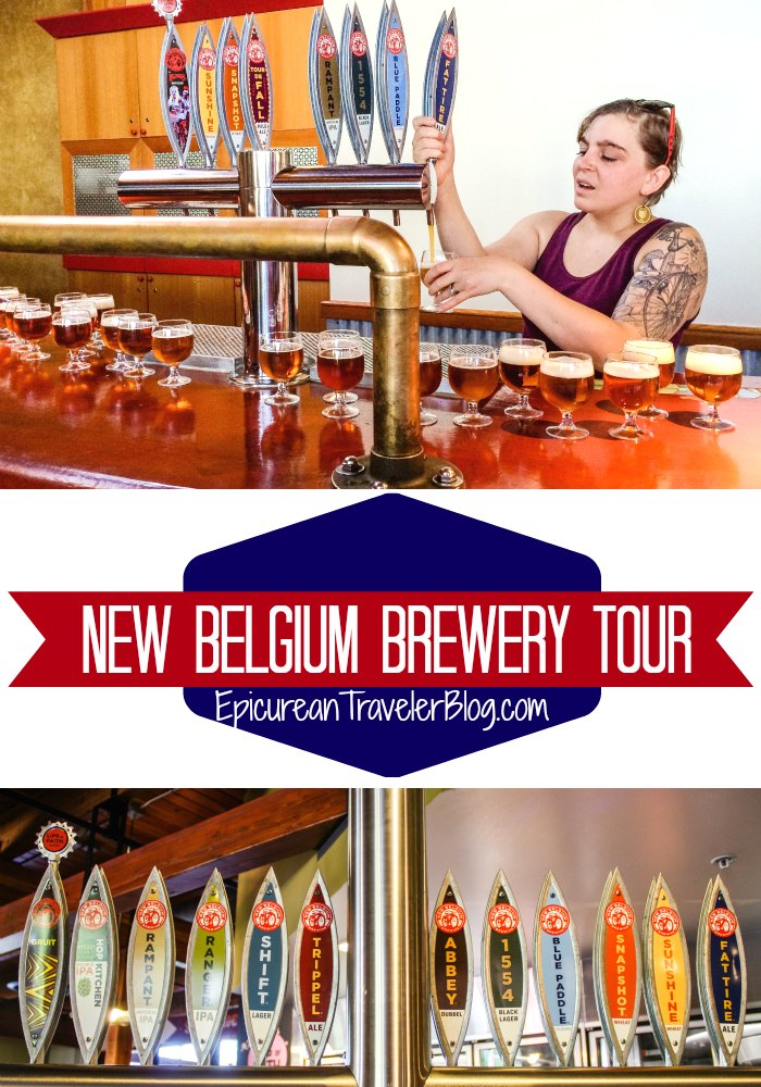 New Belgium Brewery Tour | The Epicurean Traveler