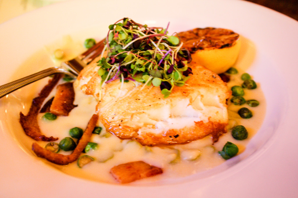Chilean sea bass special at Ottava Via (Erin Klema/The Epicurean Traveler)