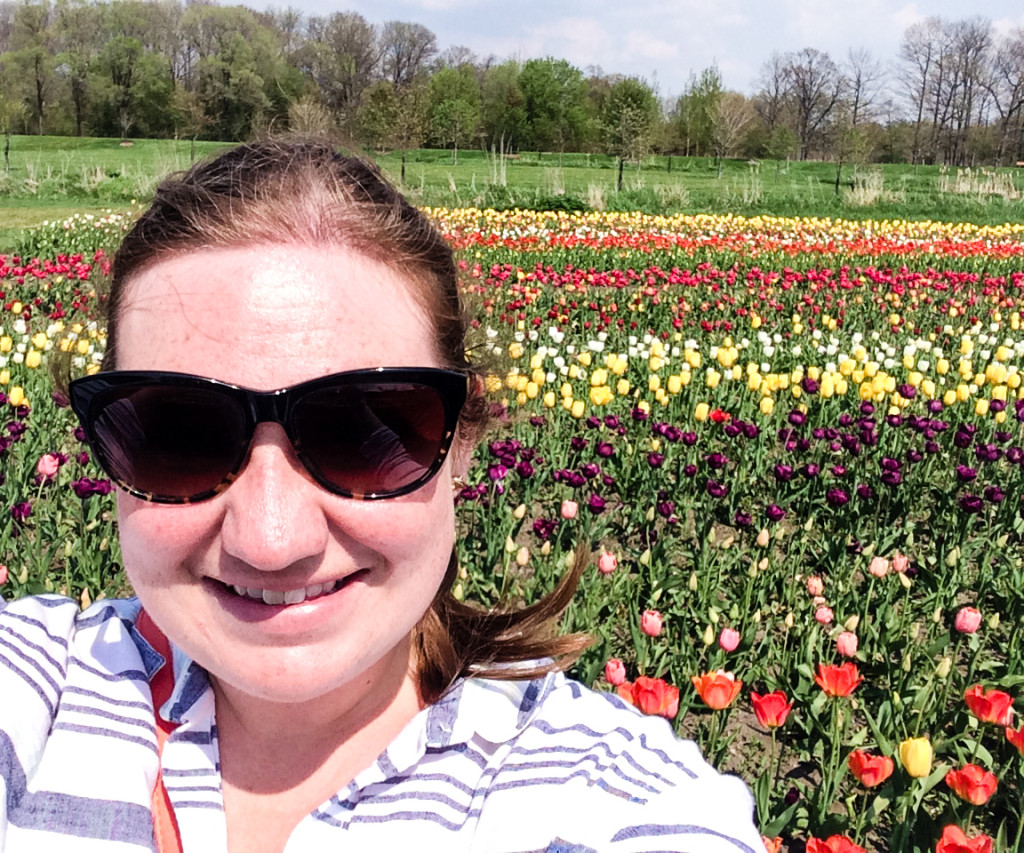 The epic Holland selfie that took five attempts to shoot and a crop in editing. (Erin Klema/The Epicurean Traveler)