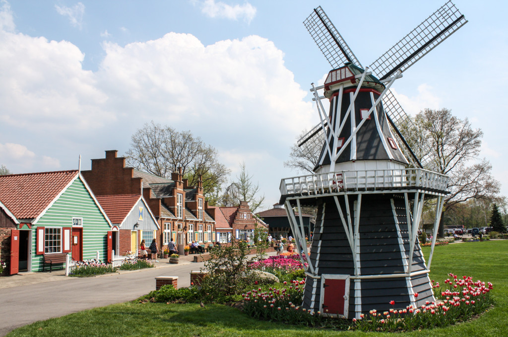 Windmill Island Gardens in Holland, Michigan | The Epicurean Traveler