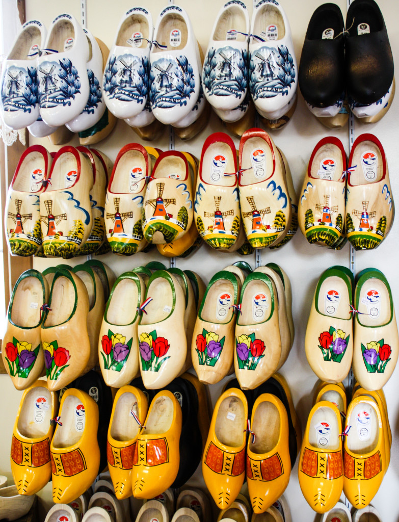 Dutch wooden clogs at Windmill Island Gardens in Holland, Michigan | The Epicurean Traveler
