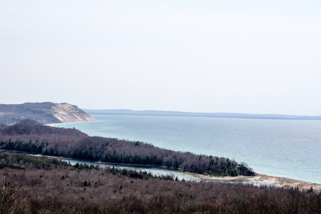 North Bar Lake overlook at Sleeping Bear Dunes National Lakeshore (Erin Klema/The Epicurean Traveler)