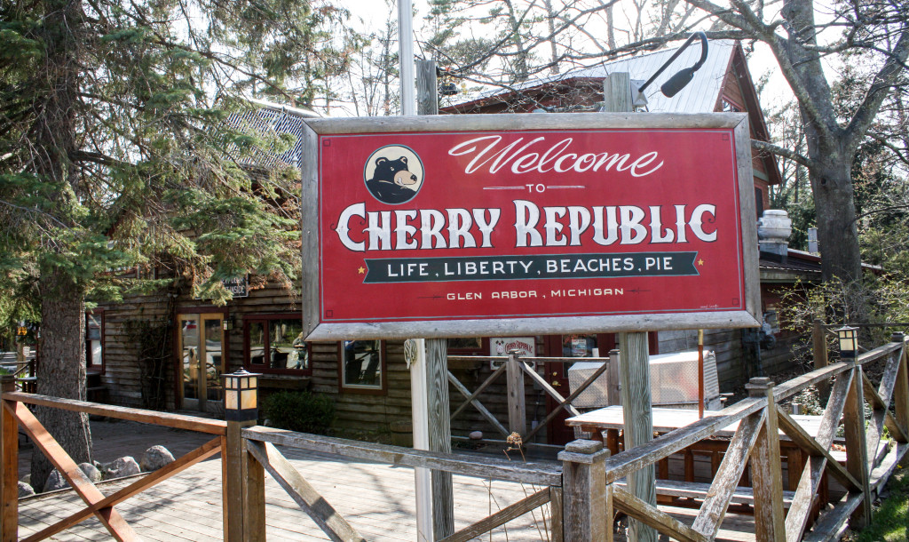 Cherry Republic in Glen Arbor, Mich. (Erin Klema/The Epicurean Traveler)