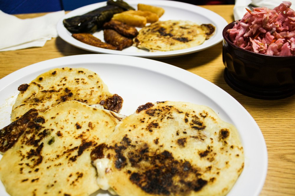 Pupusas at Pupuseria El Salvador | The Epicurean Traveler