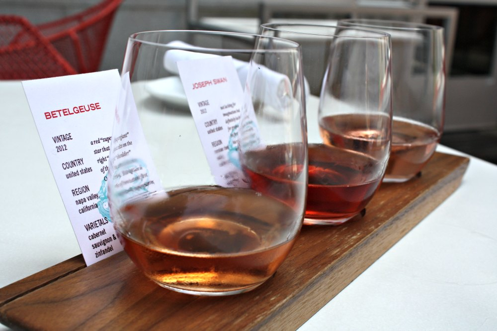 Rose flight at Reserve in Grand Rapids | The Epicurean Traveler