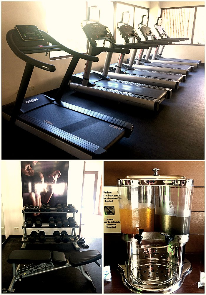 Dreams Las Mareas gym (Erin Klema/The Epicurean Traveler)