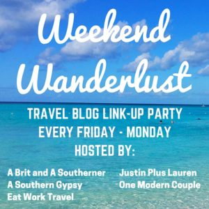Click on the photo to go to the Weekend Wanderlust link-up!