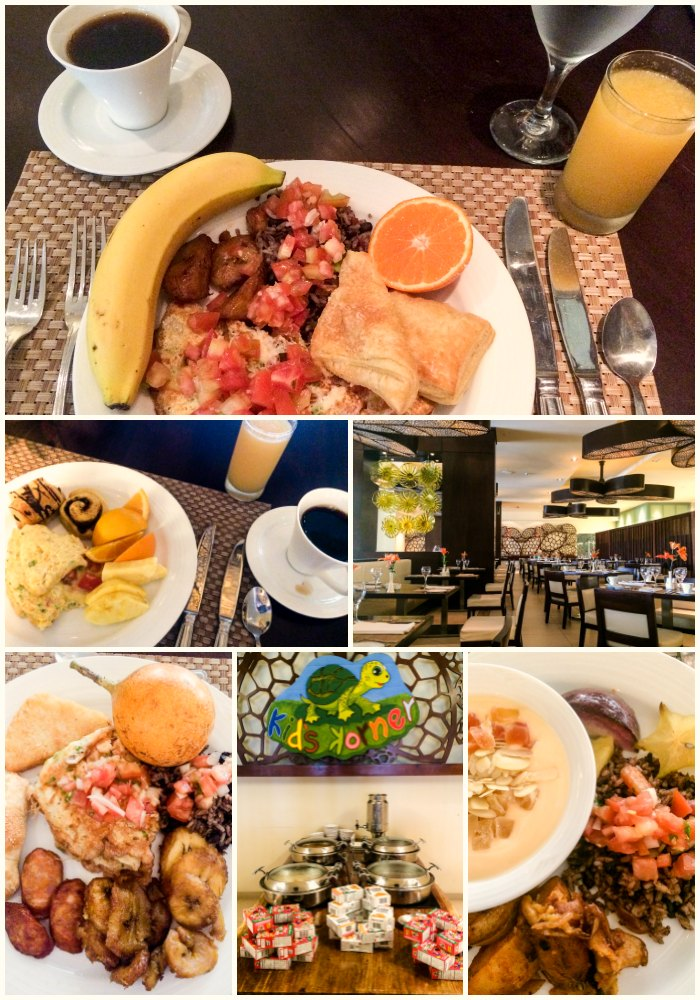 Breakfast buffet at Dreams Las Mareas World Cafe