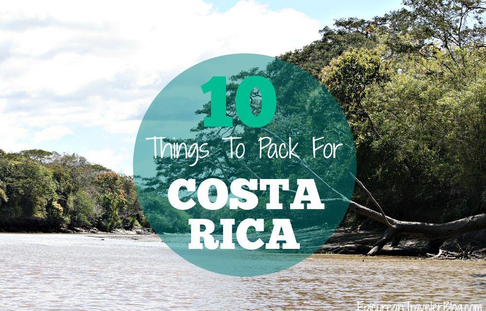 Costa Rica Packing List