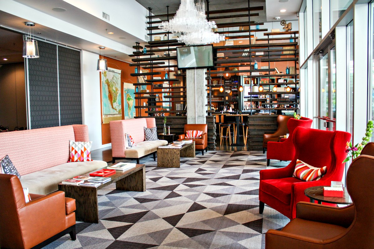HotelRED, a boutique hotel in Madison, Wisconsin via EpicureanTravelerBlog.com