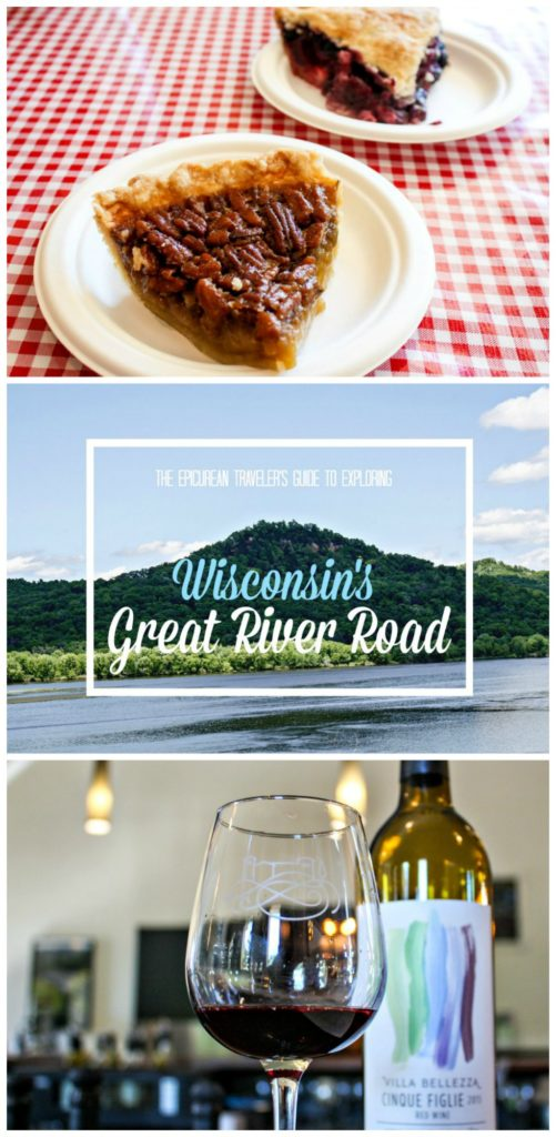 Where to stay, eat, and drink wine along Wisconsin's Great River Road via EpicureanTravelerBlog.com