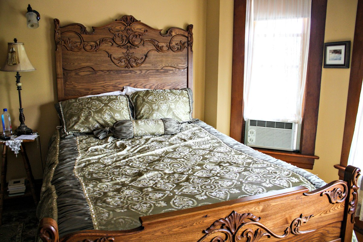 Tritsch House B&B is a restored Queen Anne home with beautiful antiques. (Erin Klema/The Epicurean Traveler)