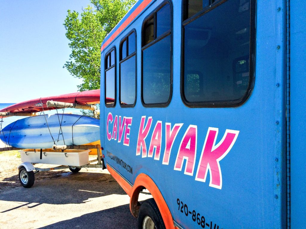 Cave Kayak Bus