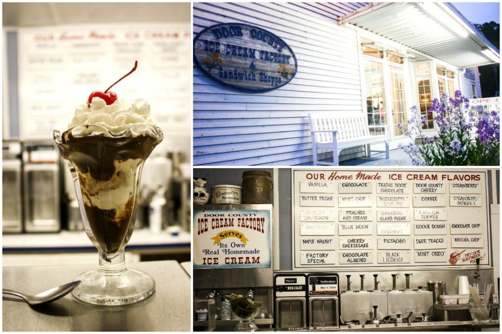 Door County Culinary Experience: Door County Ice Cream Factory & Sandwich Shoppe