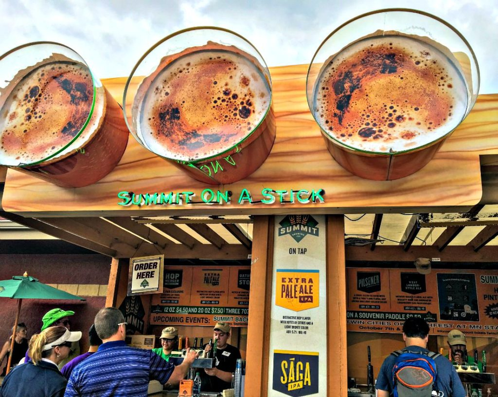 Minnesota State Fair Beer: Summit On A Stick at the International Bazaar