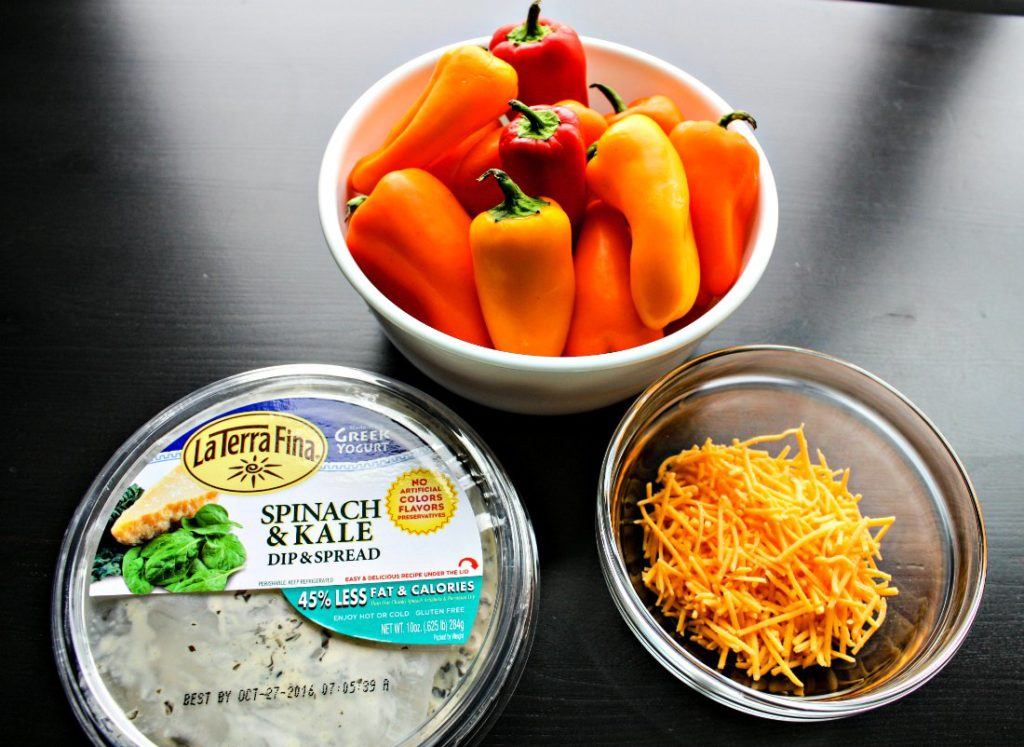 Ingredients for Stuffed Sweet Peppers Recipe