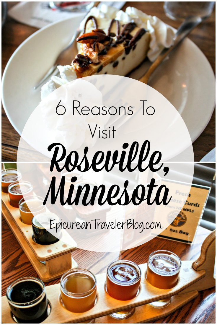 This post shares six reasons to make Roseville your base for exploring Minnesota's Twin Cities. | EpicureanTravelerBlog.com