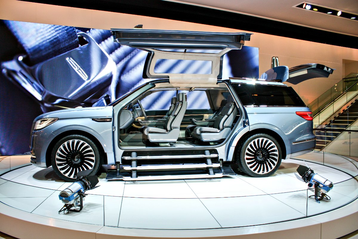 Lincoln Navigator at North American International Auto Show in Detroit | EpicureanTravelerBlog.com