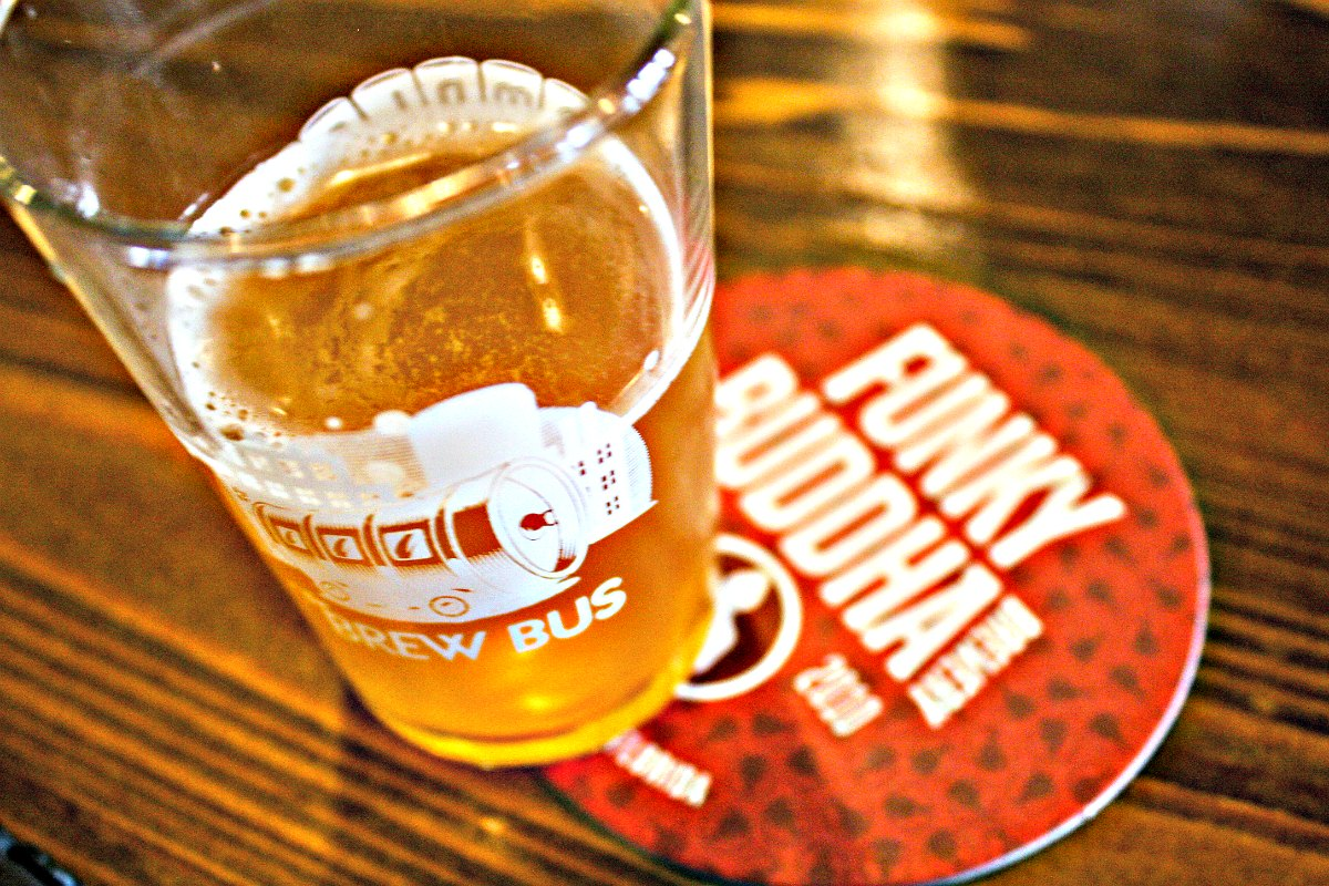 Funky Buddha Brewery with The Brew Bus in South Florida | EpicureanTravelerBlog.com