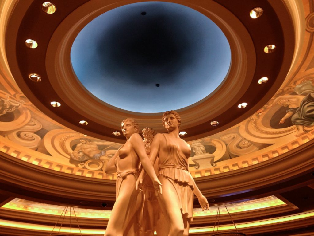 Check out the Roman art at Caesar's Palace in Las Vegas | EpicureanTravelerBlog.com