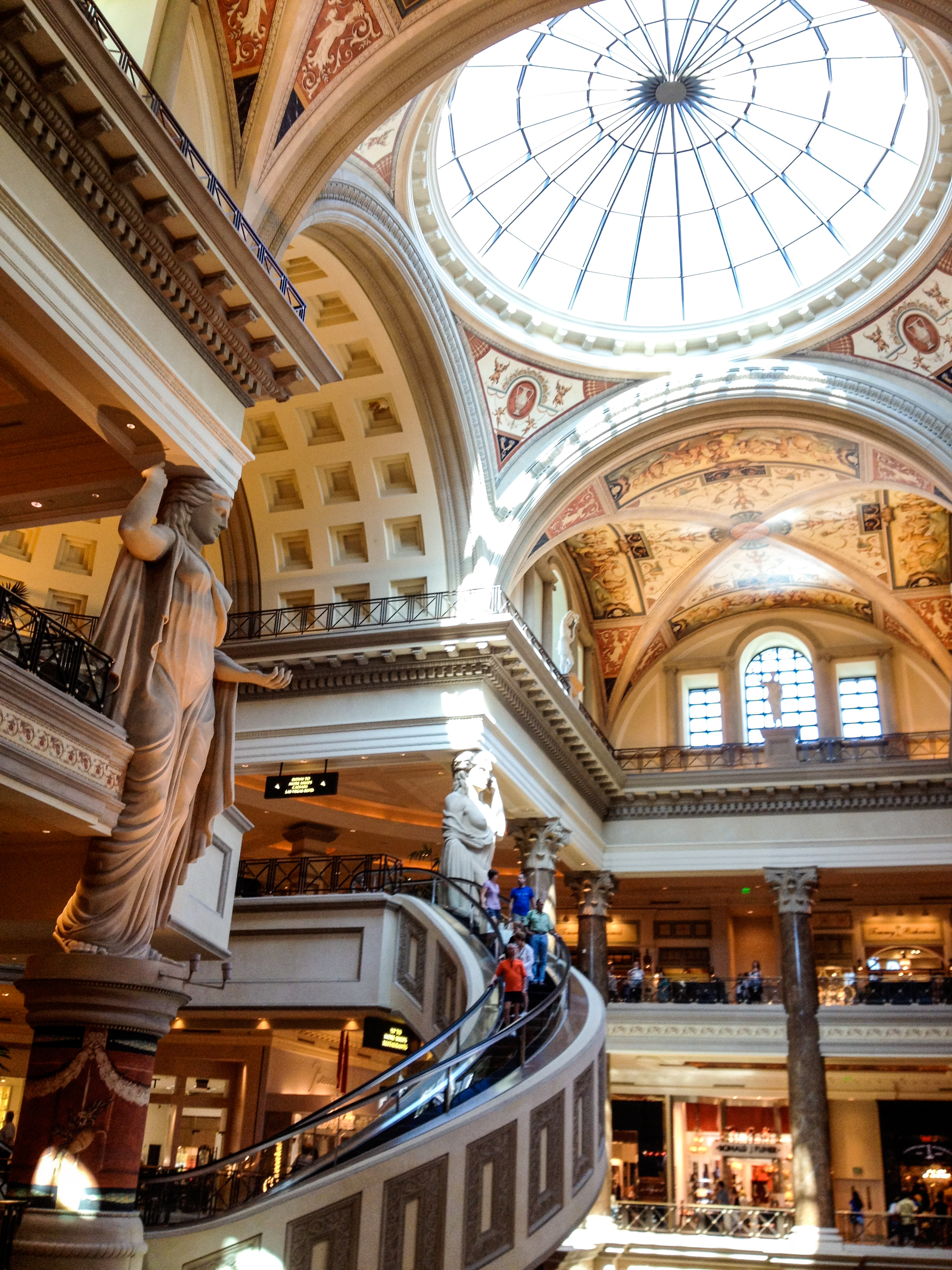 The Forum Shops at Caesars in Las Vegas | EpicureanTravelerBlog.com