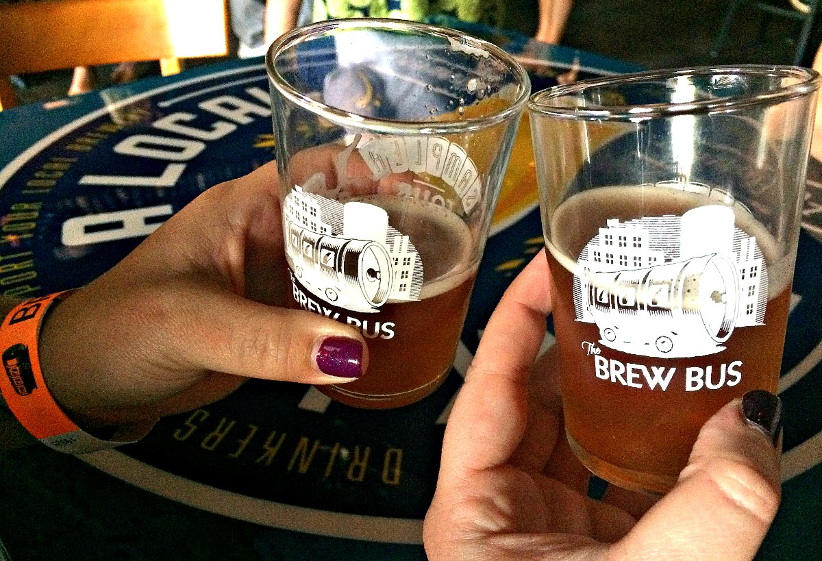 The Brew Bus beer tour in Florida | EpicureanTravelerBlog.com