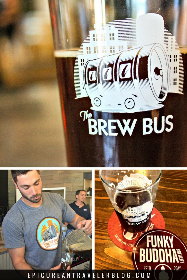 Beer lovers visiting Florida: Take a craft beer brewery tour with the Brew Bus in Tampa Bay or use their old route to create your own brewery tour in the Fort Lauderdale area! Find your South Florida brewery map and more beer travel tips today at EpicureanTravelerBlog.com.
