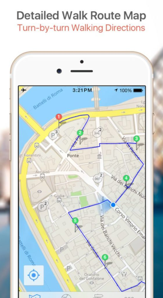 GPSmyCity offers turn-by-turn walking directions in its upgraded GPS-guided travel articles.
