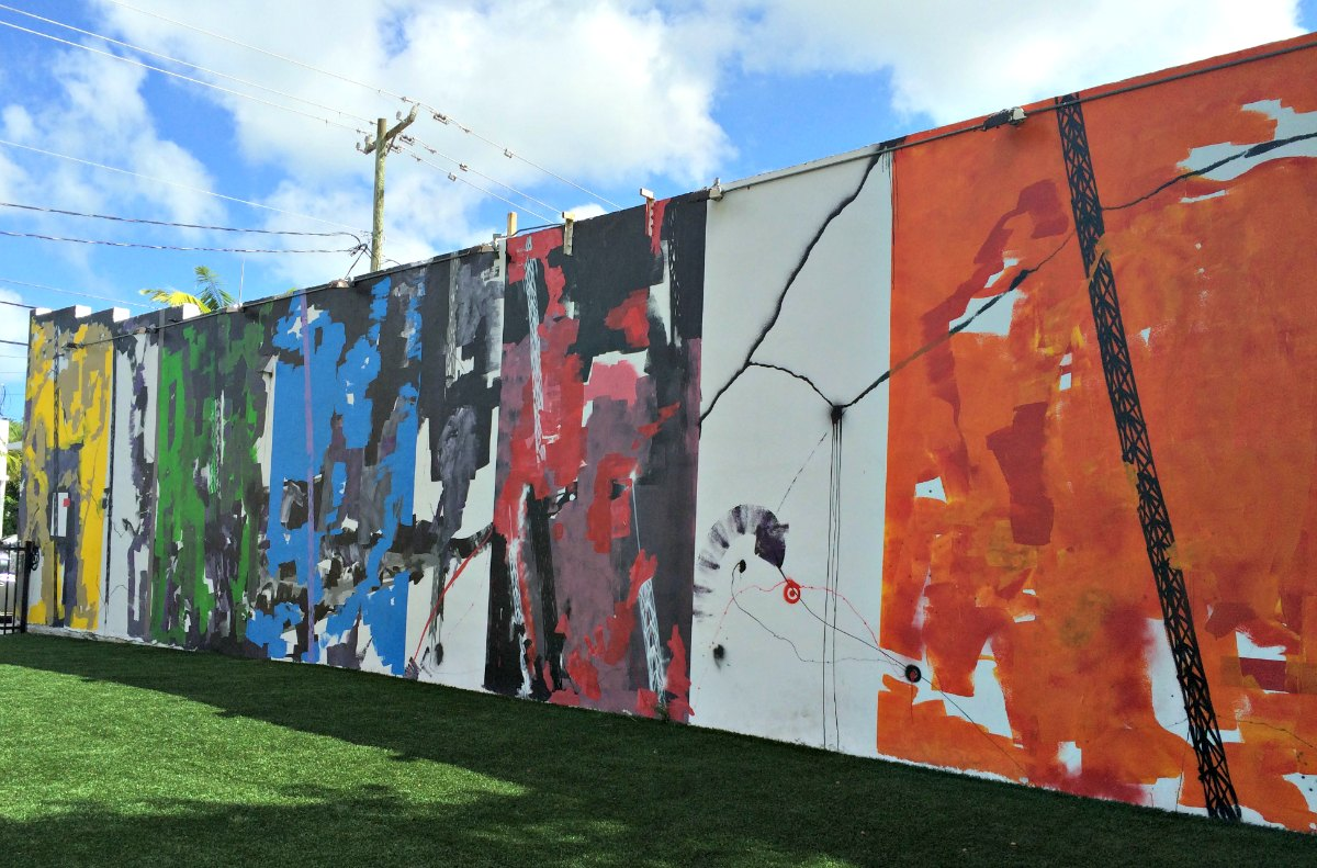 Futura street artwork at Wynwood Walls in Miami, Florida | EpicureanTravelerBlog.com