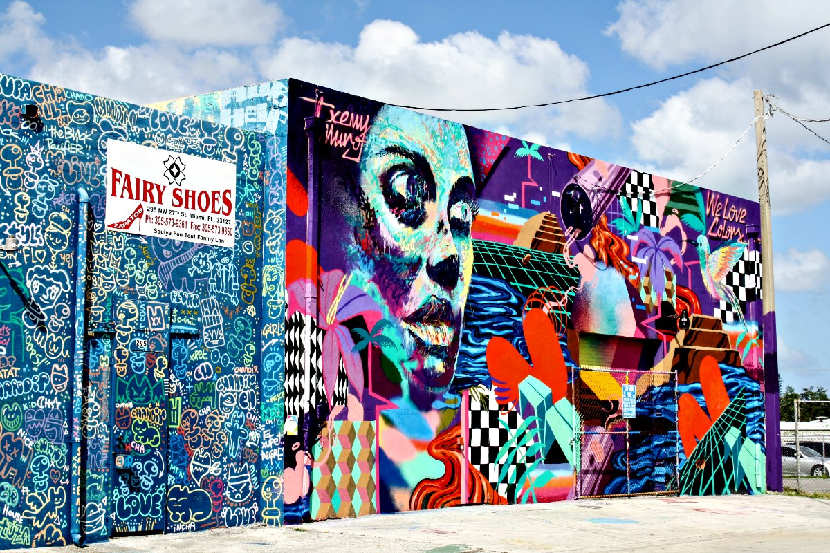 Urban street art in Miami's Wynwood Arts District | EpicureanTravelerBlog.com