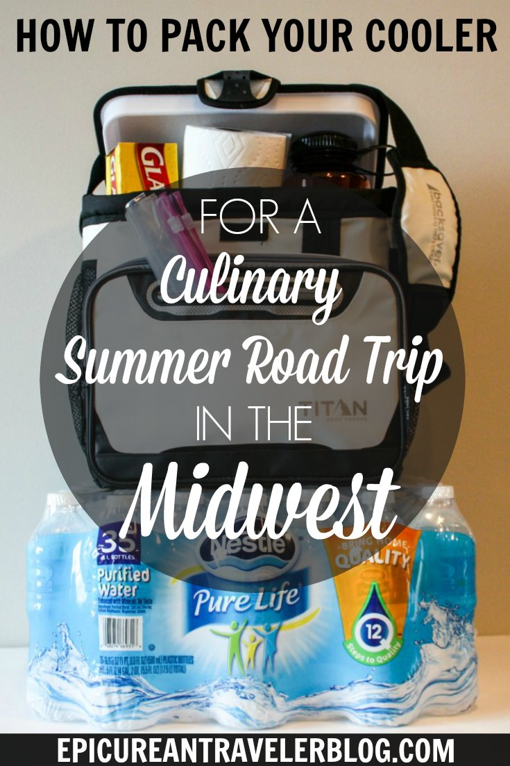 Taking a summer road trip in the Midwest? It's a great time to discover the wineries, breweries, foodie festivals, farmer's markets, and restaurants of Michigan, Minnesota and Wisconsin! Get your tips to packing your cooler today at EpicureanTravelerBlog.com! This post is #sponsored. #purelife35pk #CollectiveBias