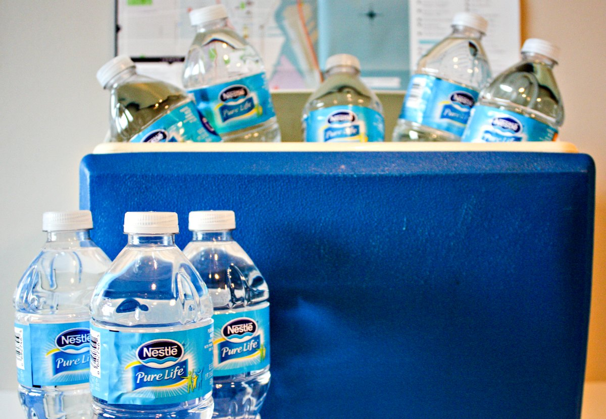 When packing for a summer road trip, don't forget your Nestle Pure Life bottled water to stay hydrated on the road. | EpicureanTravelerBlog.com