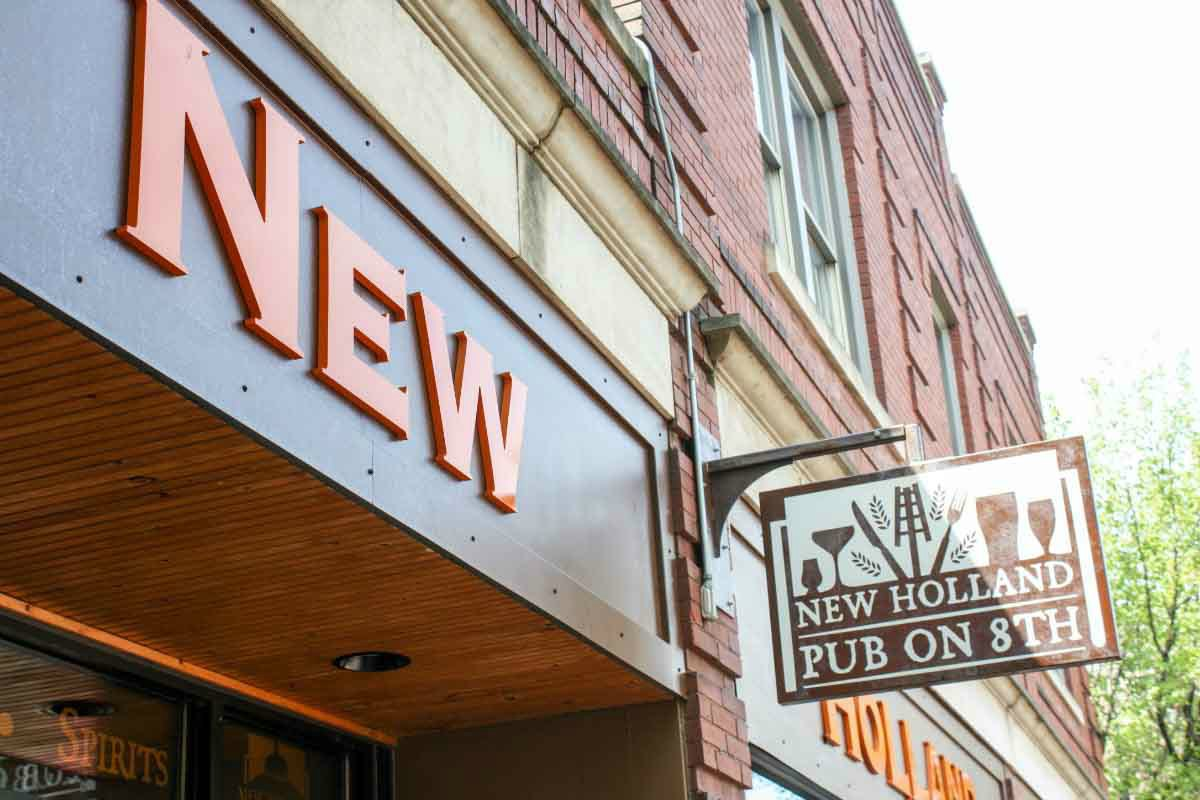 New Holland Pub on 8th in Holland, Michigan