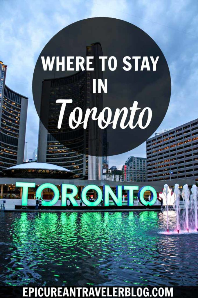 Traveling to Toronto? This Toronto travel guide shares five neighborhoods ideal for travelers, especially foodies. Plus hotel recommendations! | Toronto, Ontario, Canada | Get your travel tips today at EpicureanTravelerBlog.com!