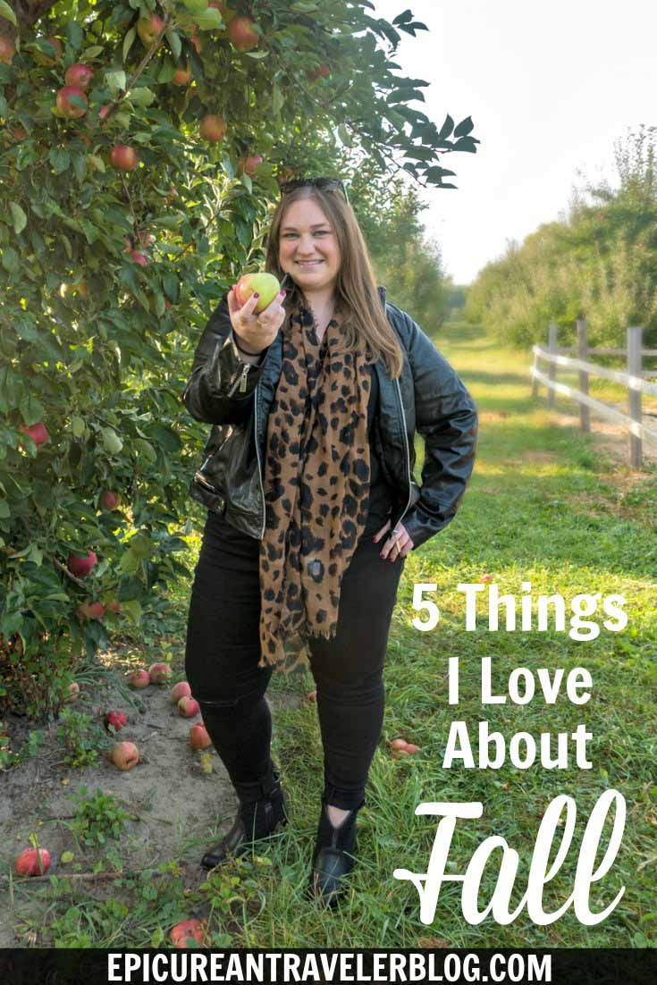 Five Fall Favorites -Why I love autumn includes fun fall activities, scenic road trips, yummy flavors and scents, and chic layering styles. This blog post is #sponsored by @shopkostores. #Shopko
