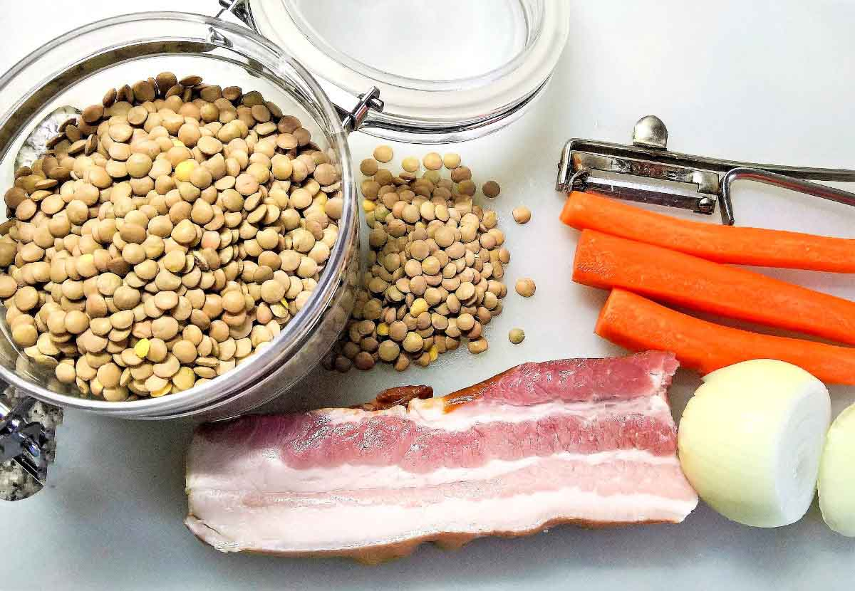 Dublin Coddle Ingredients