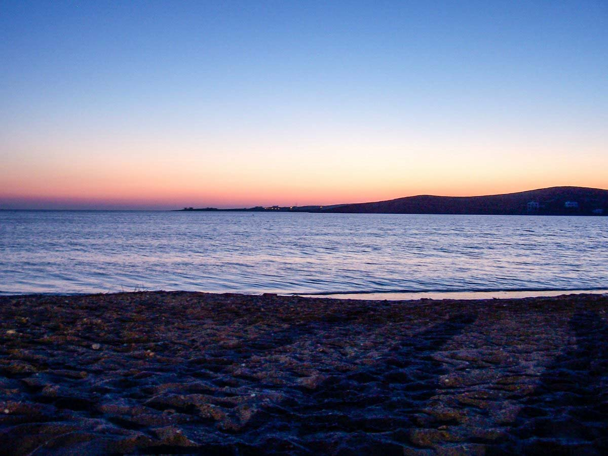 Sunset on Paros, Greece
