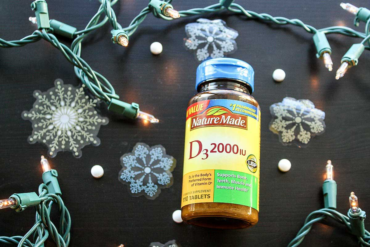 Beat the wintertime blues with Nature Made Vitamin D3 tablets