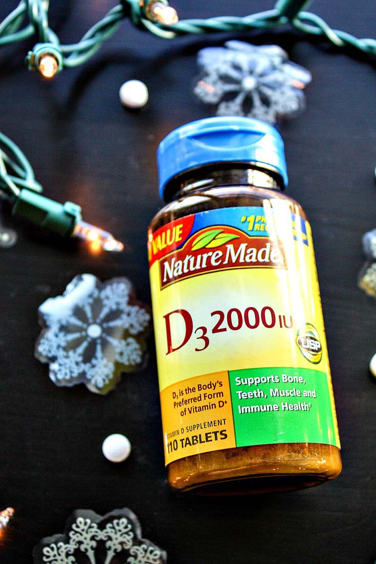 Nature Made Vitamin D3 2000IU