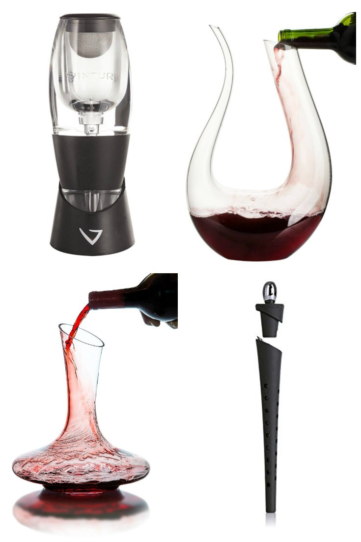 Wine Decanters and Aerators
