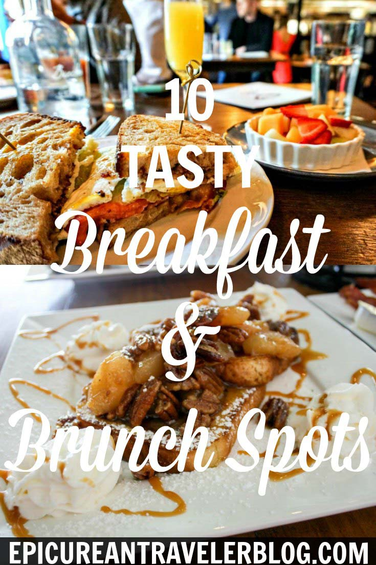 Calling all breakfast food lovers and #SundayFunday brunchers! This post rounds up the 10 best breakfast and brunch spots visited by The Epicurean Traveler during 2017 travels in the US and Ireland. Get your culinary travel tips today at EpicureanTravelerBlog.com!