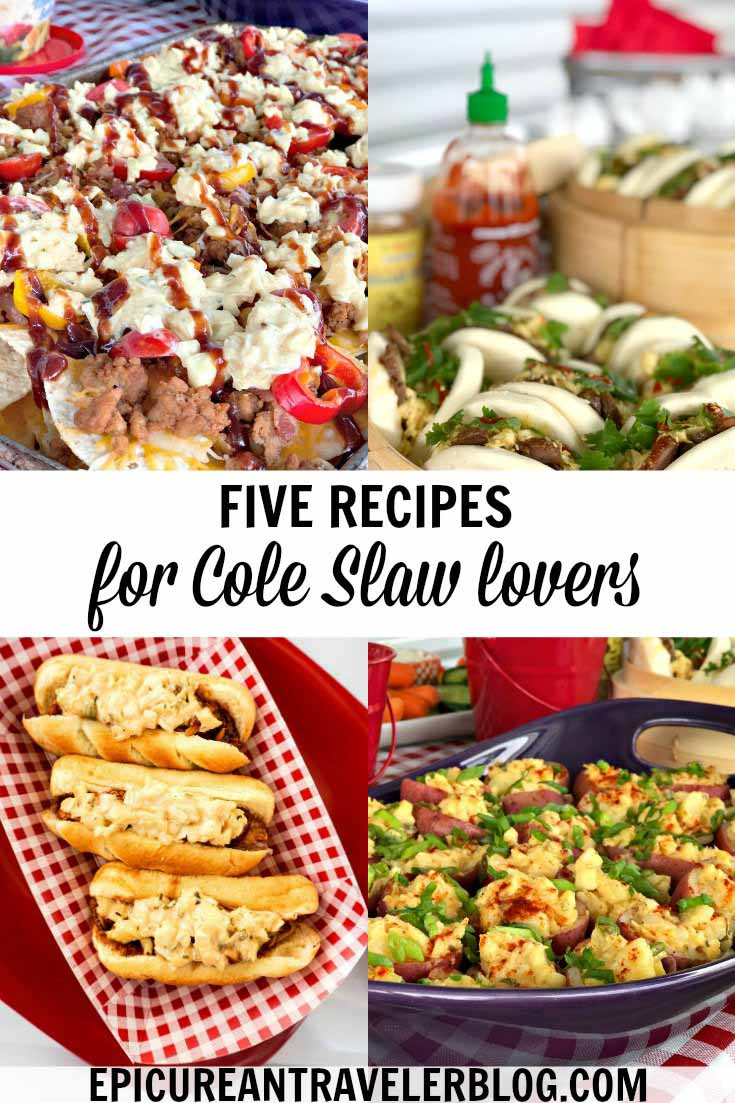 Cole-Slaw lovers, these five recipes are for you! Need a creative idea to use up Cole Slaw this summer? These dishes will have your mouth watering and slaw lovers swooning! #sponsored #SlawSocial #ResersInGR #LetsEat