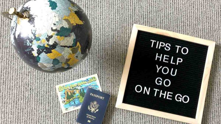 Tips to help you go on the go #ReLAXOnThGo