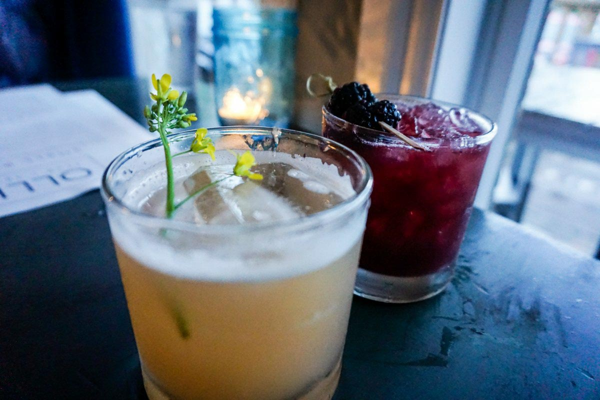 Inventive craft cocktails are just one reason to dine at Ollie Food + Spirits in Ypsilanti, Michigan, USA. #sponsored #YpsiReal #ErinInA2 #ErinInAnnArbor