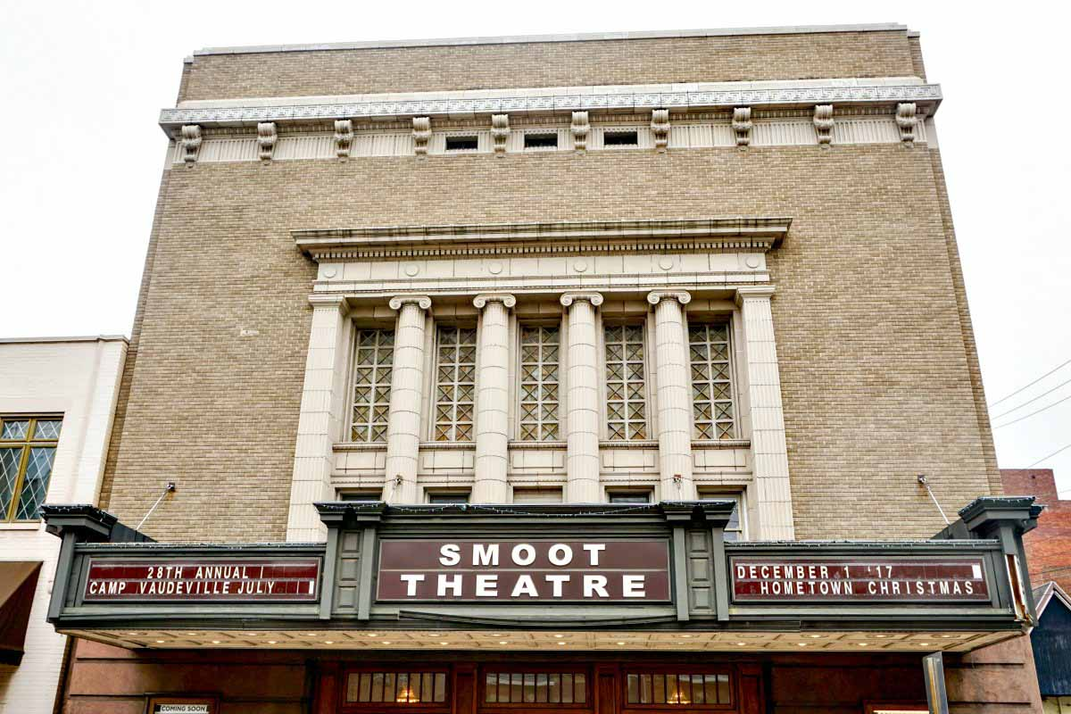 Smoot Theatre was a 1920s Vaudville theater in Parkersburg, West Virginia, USA. #VisitPKB #Parkersburg #WestVirginia #AlmostHeaven #theater #history #travel #USA #UStravel