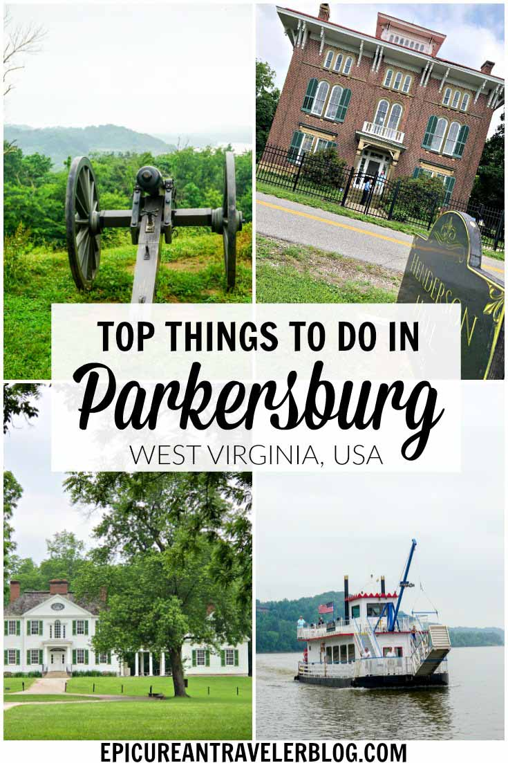 Visiting Parkersburg, West Virginia? Here are the top attractions including historic sites, state parks, and arts & cultural centers. #Parkersburg #VisitPKB #WestVirginia #AlmostHeaven #travel #weekendgetaway #thingstodo #attractions #travelguide