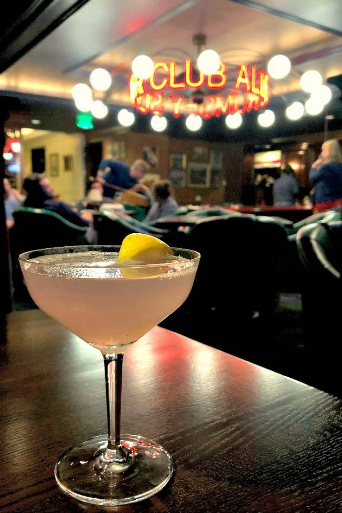 At the boutique hotel Graduate Ann Arbor, the Allen Rumsey Supper Club serves creative libations in an old-school cocktail lounge. | Ann Arbor, Michigan, USA | #sponsored #ErinInA2 #ErinInAnnArbor #AnnArbor #DestinationAnnArbor