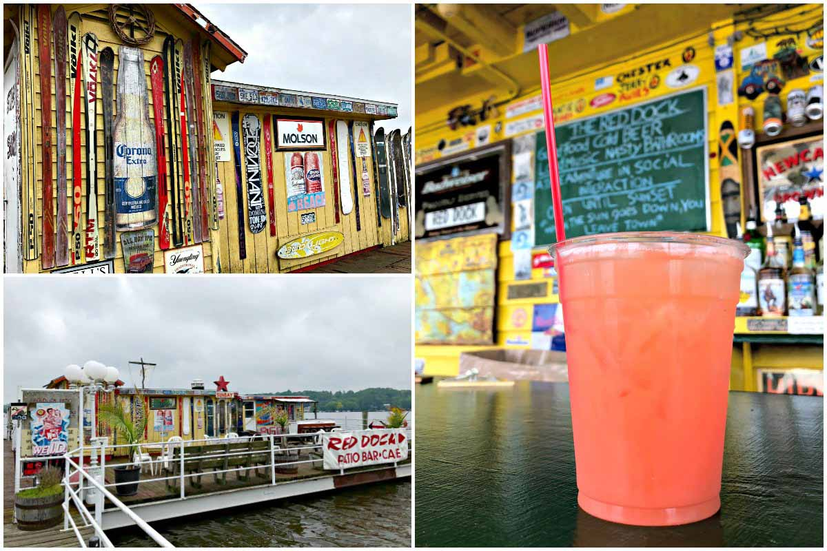 Red Dock is a waterfront bar in Douglas, Michigan, USA