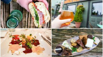 The small West Michigan lakeside towns of Saugatuck and Douglas are fit for foodies. #Saugatuck #Douglas #EatDrinkSDF